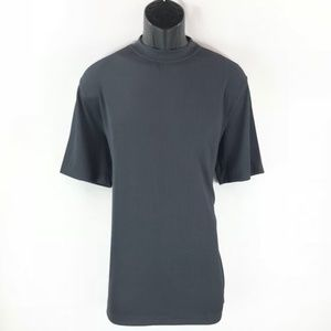 Men's Dressy Charcoal T-Shirt By LOG-IN UOMO